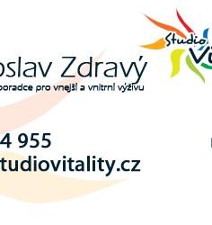 Vizitka pro Studio Vitality
